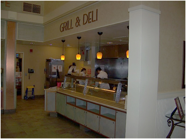 Grill and Deli section of Robin's Nest Café