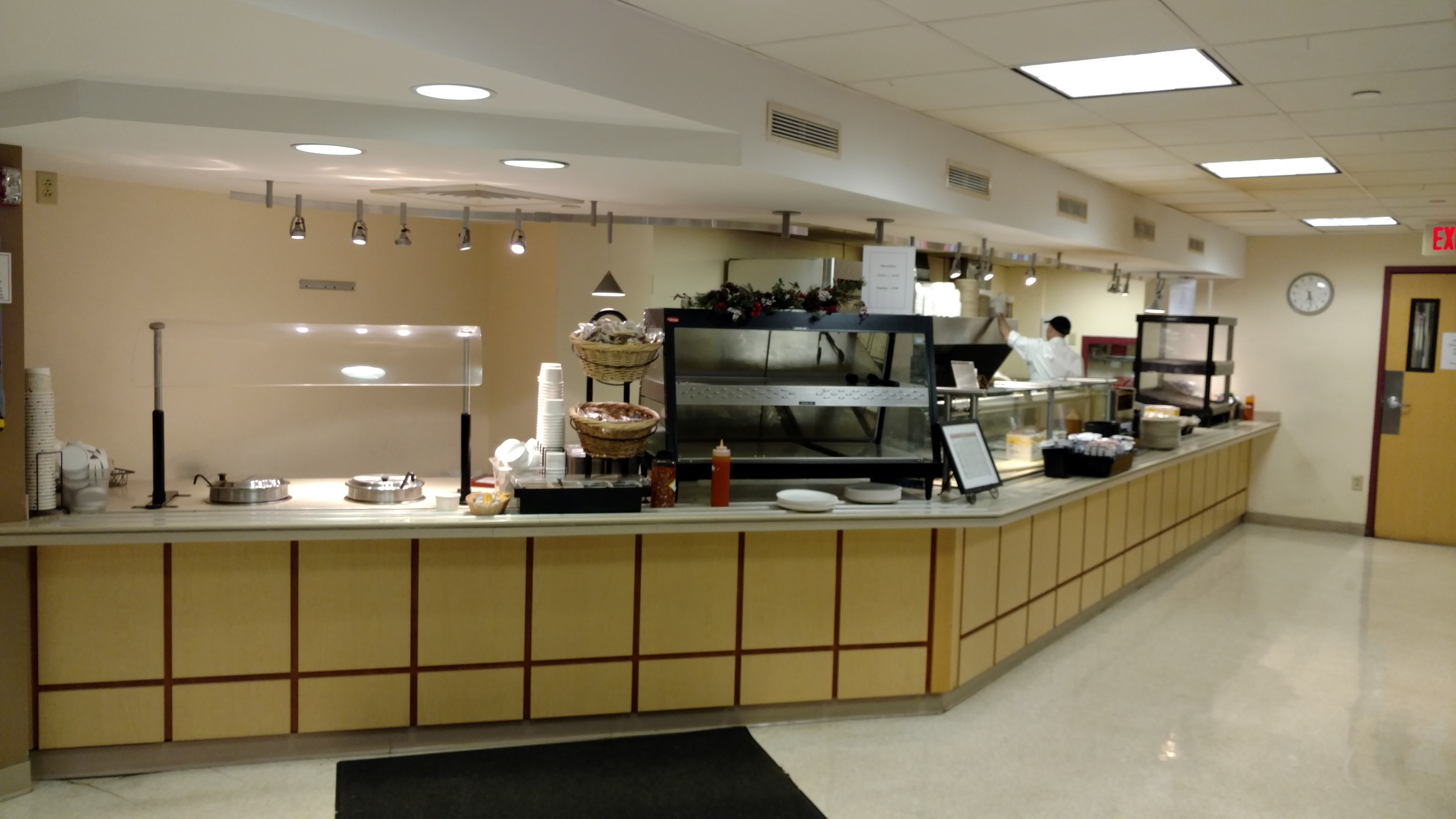 Overall View of the Mount Auburn Hospital Cafeteria Stations